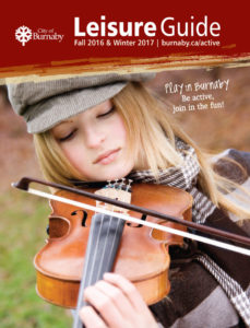 Fall & Winter Leisure Guide Cover Page